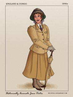 Historically Accurate Jane Porter by Wickfield on DeviantArt