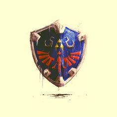 C'est mon coup de coeur de la journée, voici Zelda Series x Weapons, une série d'illustrations sur l'armurerie de notre chère Link, c'est signé de la graphiste et illustratrice Marie BERGERON et ça...