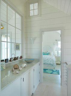 Nantucket Beach Cottage with Coastal Interiors