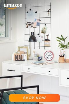 Study Room Decor, Room Ideas Bedroom, Diy Bedroom Decor, Design Bedroom, Home Office Design, Home Office Decor, Target Home Decor, Aesthetic Room Decor, My New Room