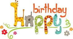 Creative Happy Birthday design elements vector art 01