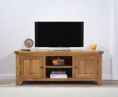 York 150cm Oak TV Unit