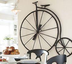 Sculptural High Wheel Bicycle