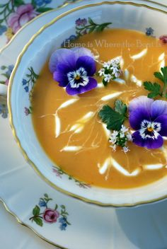 Chilled Carrot Soup (Southern Living Recipe)