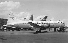 Convair CV-340-57 (YV-62C, c/n 164) of AVENSA at Maiquetia Int. airport.
