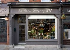 Lovely shop front off camden street in Dublin and designed by fuse