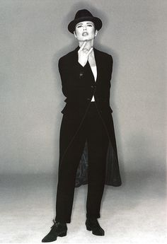 Dolce & Gabbana: Fall/Winter Collection 1994-1995 | Model: Isabella Rossellini Photography: Michel Comte