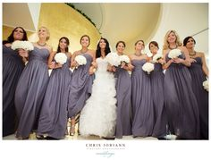 Bridesmaids & Bride #Weddings #SomethingBleau #Miami #Fontainebleau
