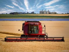 International Tractors, International Harvester, John Deere Combine, Don't Fear The Reaper, Farm Pictures, Case Tractors, Country Barns, Old Farm Equipment, Case Ih