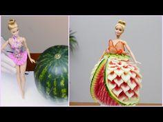 How to Make Carrot Flowers - Vegetable Carving Garnish - Sushi Garnish - Food Decoration Fruit Centerpieces, Fruit Decorations, Food Decoration, Fruit Garnish, Carrot Flowers, Watermelon Dress, Banana Art, Food Art For Kids, Fruit And Vegetable Carving