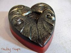 Twilight Heart Soap by BlueMoonBubbles on Etsy, $5.00