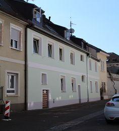 Mehrfamilienhaus mitten in Karlsruhe-Durlach: Rückansicht