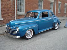 1946 Ford Coupe Maintenance/restoration of old/vintage vehicles: the material for new cogs/casters/gears/pads could be cast polyamide which I (Cast polyamide) can produce. My contact: tatjana.alic@windowslive.com