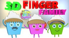 3D Finger Family Cake | Nursery Rhymes & Kids Songs by Jump Family Finger