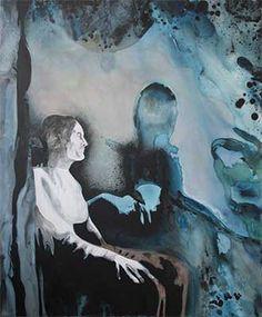Cosima Hawemann, 4.18 - 4.48 (E.M.), 2016, acrylic on canvas,120 x 100 cm