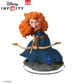"Shea: Disney Infinity: Disney Originals Figure Edition) - Merida - Disney Interactive - Toys ""R"" Us Disney Pixar, Merida Disney, Walt Disney, Brave Merida, Brave Disney, Disney Toys, Brave Pixar, Disney Infinity Characters, Disney Characters"