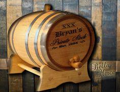 Bella Merce - Personalized XXX Private Stock Oak Barrel, $75.00 (http://www.bellamerce.com/personalized-xxx-private-stock-oak-barrel/)