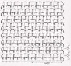 Crochet Patterns for Beginners Crochet Diagram, Crochet Chart, Crochet Granny, Filet Crochet, Crochet Motif, Crochet Doilies, Crochet Lace, Crochet Stitches Patterns, Thread Crochet