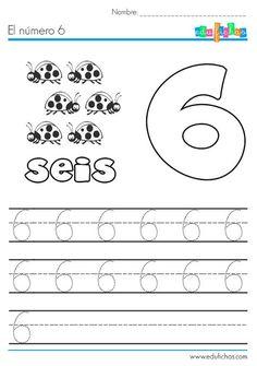 El número seis: http://edufichas.com/actividades/matematicas/numeros/el-numero-6-aprender/