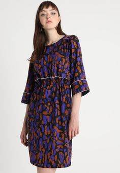 Selected Femme SLFTESSA 3/4 DRESS - Sommerkjole - black - Zalando.no The Selection, Dresser, Cold Shoulder Dress, Casual, Black, Fashion, Woman, Moda, Powder Room