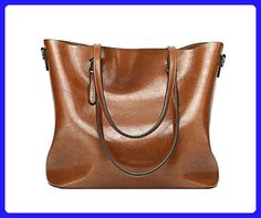 2e7622b644f9a ANNE Women s PU Leather Shoulder Handbags with Retro Tote Bags - Totes  ( Amazon Partner