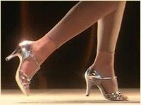 Baby's shoes from Dirty Dancing