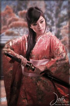 geisha warrior by loverboy82 digital art photomanipulation fantasy ...