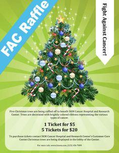 Surprize Gift Raffle Flyer Template  Fundraiser