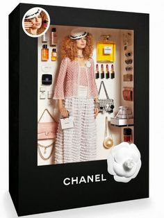 Chanel Barbie doll e