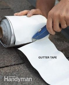 home repairs,home maintenance,home fixes,home maintenance tips,home repair diy Home Renovation, Diy Gutters, Home Fix, Diy Home Repair, Roof Repair, Leak Repair, Home Repairs, Do It Yourself Home, Home Improvement Projects