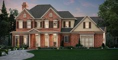 Traditional+House+Plan+with+3454+Square+Feet+and+4+Bedrooms+from+Dream+Home+Source+ +House+Plan+Code+DHSW076574