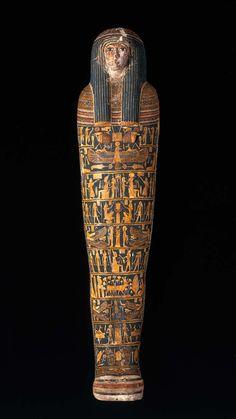 Mummy case and mummy of Ankhpefhor | Museum of Fine Arts, Boston