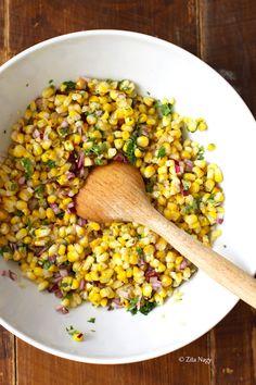 Zizi kalandjai: Pirított kukorica salsa és piknik a Margit szigeten