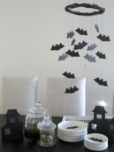 Design Sprinkle: Halloween Bat Chandelier