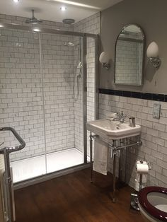 Browse our laying patterns in the Topps Tiles Stlye & Inspiration hub. Wooden Bathroom Floor, Wooden Floor Tiles, Bathroom Flooring, Wall Tiles, Edwardian Bathroom, Vintage Bathrooms, Bathroom Design Small, Bathroom Ideas, Bathroom Remodeling