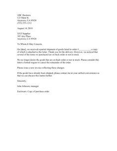 restraining order letter order letter sample pinterest order