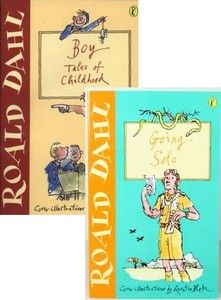 Pair Roald Dahl Paperback books - Going Solo & Boy Tales of Childhood | Visit...The Ginger Sheep £3.99