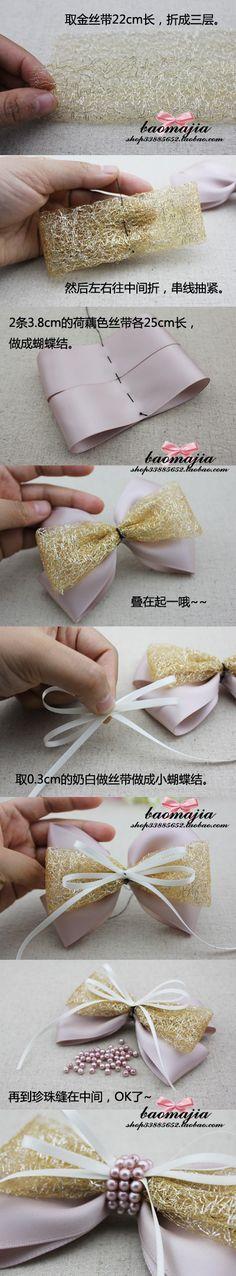 蝴蝶结~来自阿拉冷的图片分享-堆糖网;