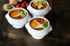 Breakfast chili! Low carb and gluten free and dairy free.