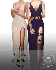 Hadassa's Side Slit Dress