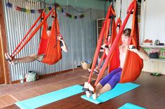 Fitness on the Road: Aerial Yoga in PCB
