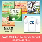 JULY 2014 SPECIAL #2: Order the Complete QE CD Package for regular discounted price and SAVE 50% on the QE T-SHIRT http://www.shop.qeprocess.com/Complete-QE-CD-Package-50-off-QE-T-Shirt-CQE-PACK-TSHIRT.htm