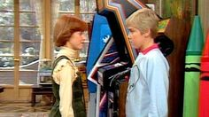 My parents let me down easy when they told me that even if we had as much money as the dad on Silver Spoons we wouldn't have giant crayons, a video game, or a ride on train in our living room.
