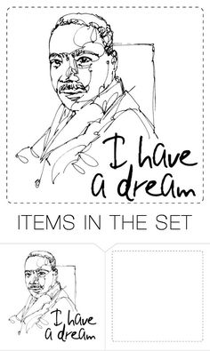"""-Martin Luther King Jr. ()"" by mangolover1 ❤ liked on Polyvore featuring art"
