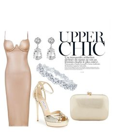 """""""Untitled #7"""" by lisamarieweideman on Polyvore featuring Jimmy Choo, Harry Winston, Kenneth Jay Lane, Serpui, women's clothing, women, female, woman, misses and juniors"""
