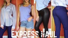 EXPRESS CLOTHING HAUL + TRY ON