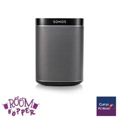 #PassionatePins - Room Hopper SONOS Play 1 http://www.currys.co.uk/gbuk/audio/hi-fi-speaker-docks/hi-fi-systems/sonos-play-1-wireless-multi-room-speaker-black-21748991-pdt.html?cmpid=social~pinterest~i~ecaudio
