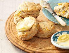 Corn, Buttermilk And Chive Popovers Recipe — Dishmaps