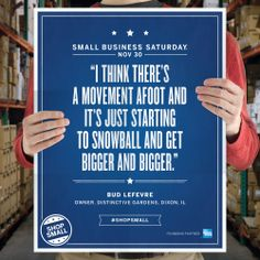Repin this to remind your friends and family to #ShopSmall this #SmallBizSat, Nov 30!