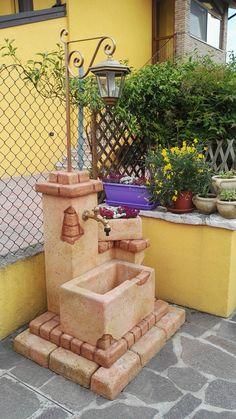 Come Costruire Una Fontana In Cemento.Bonfante Fontana Fontanella Da Giardino Pietra Ricostruita El Paso
